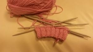 Start of sock